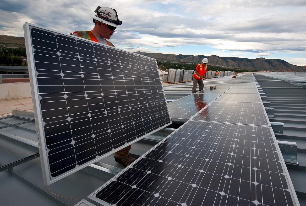 Montare panouri solare DEMO