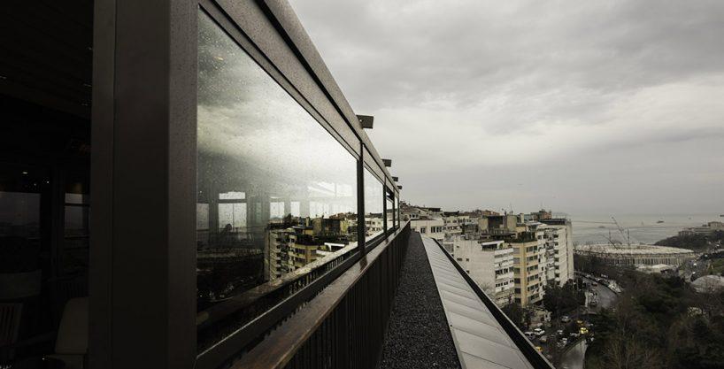 Sistem automatizat din sticla, pentru terase inchise si deschise. Sun Leader