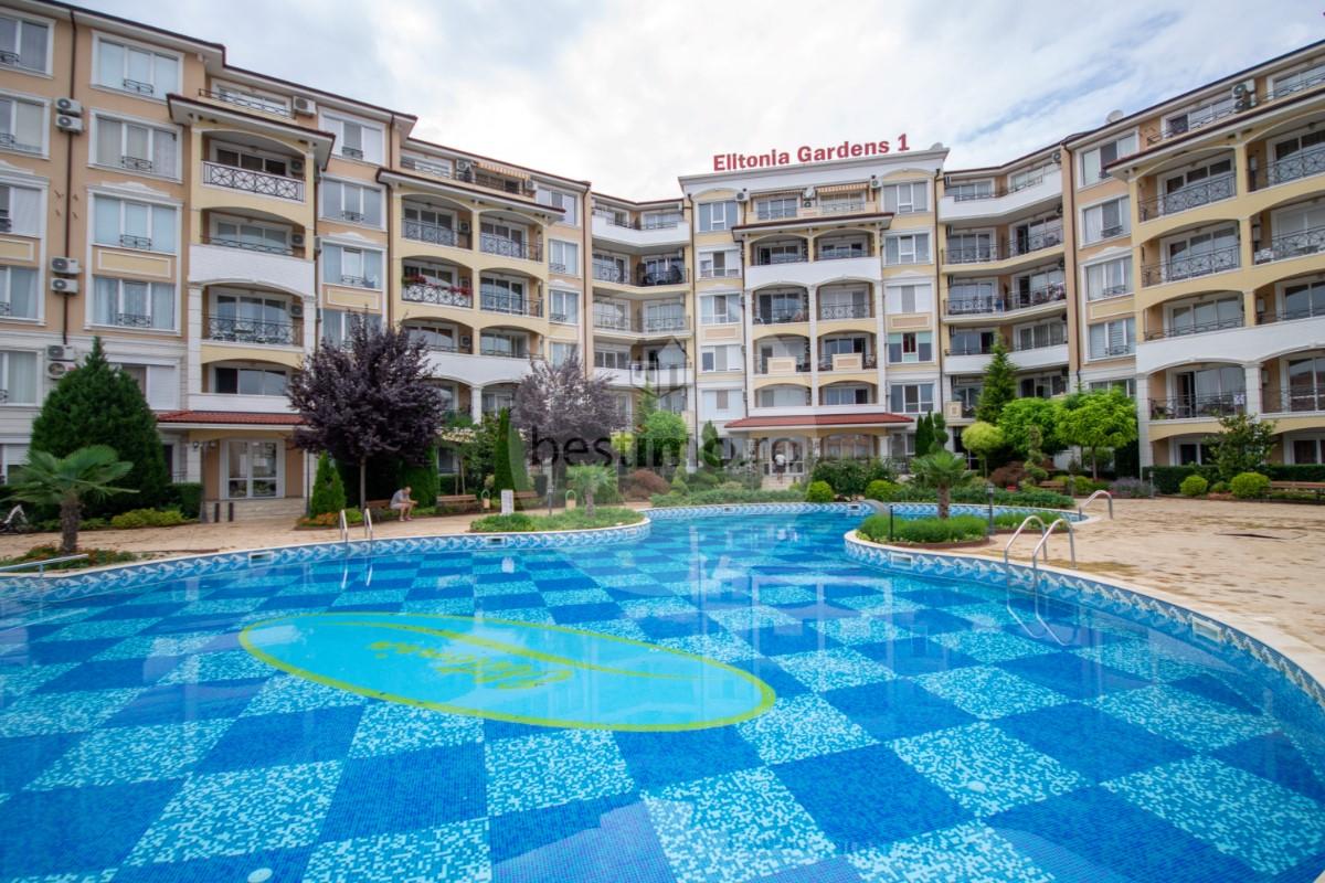 Apartament 2 camere, complex superb Elitonia Gardens I, Ravda