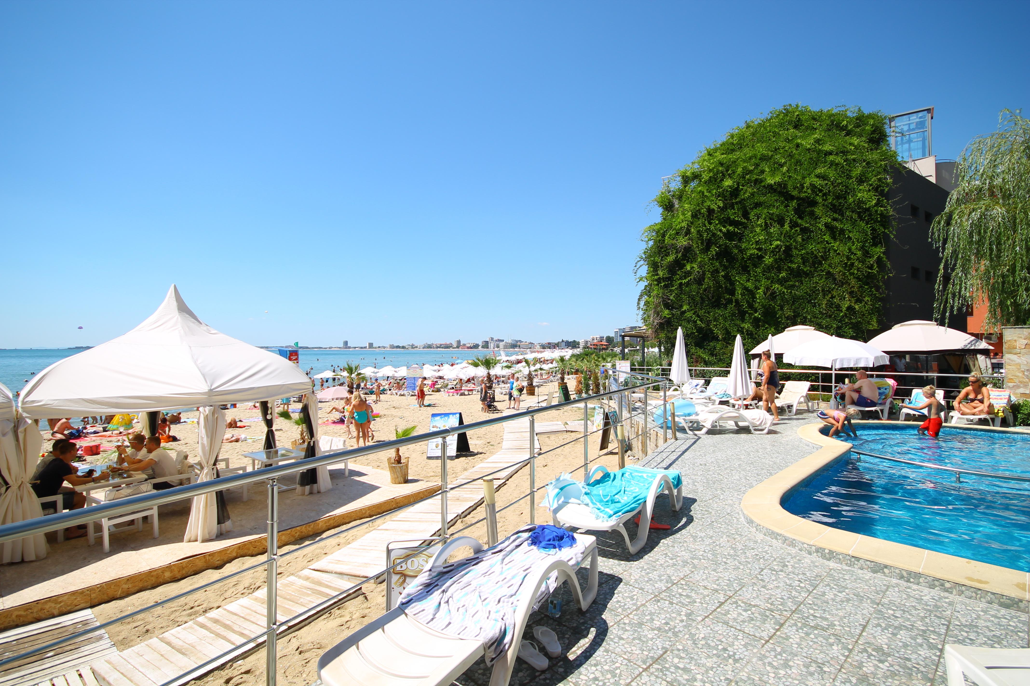 Apartament cu 2 camere pe plaja Sunny Bay***, Sunny Beach