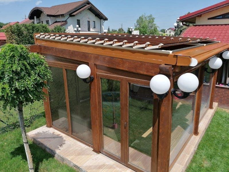 Pergola Retractabilă terasă