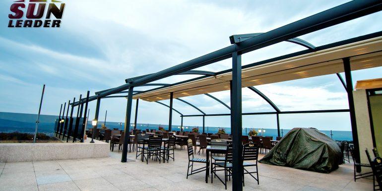 Pergola cu structura independenta Sun Leader. Wonderland Cluj Resort logo