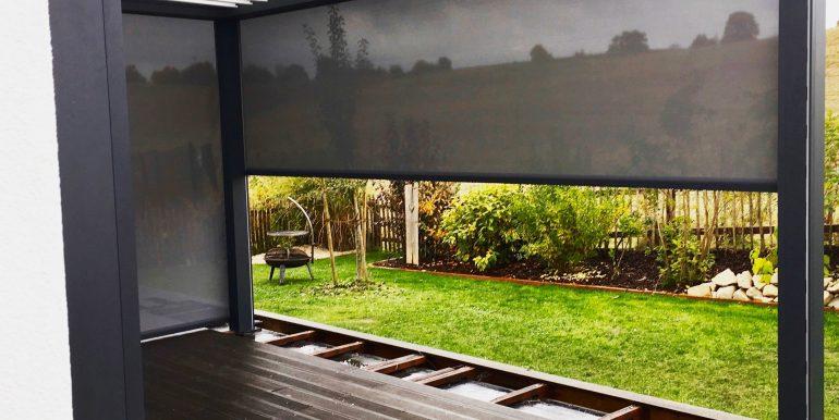 bioclimatica cu zipscreen sun leader