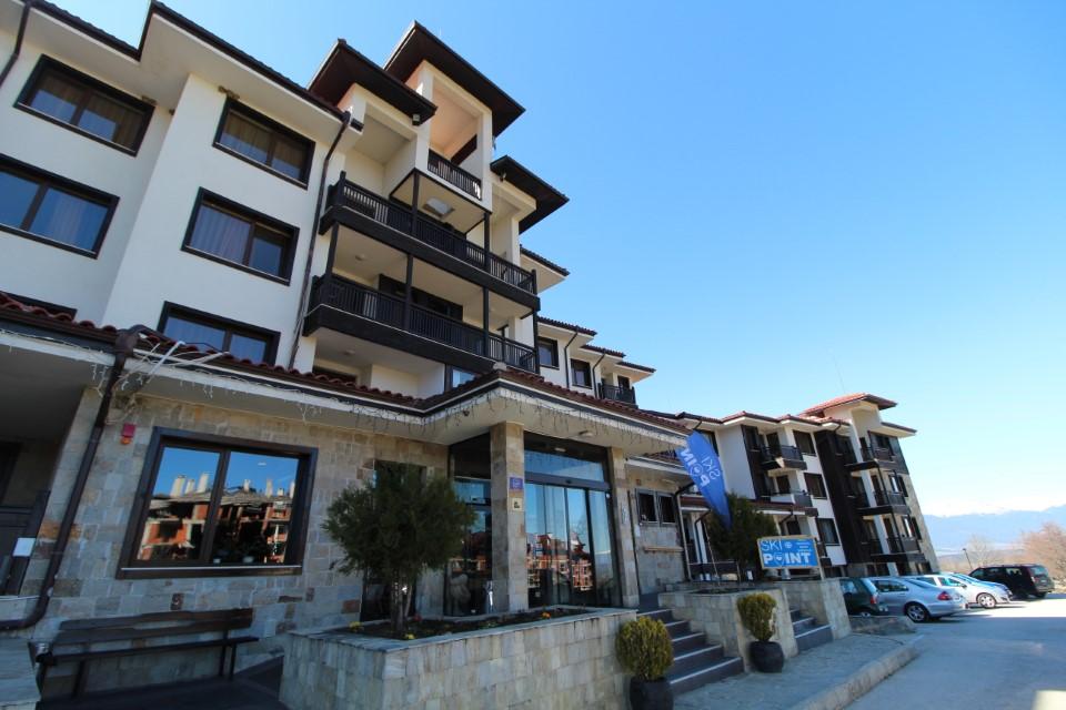 Apartament cu 2 camere, cu vedere la munte, statiunea Bansko