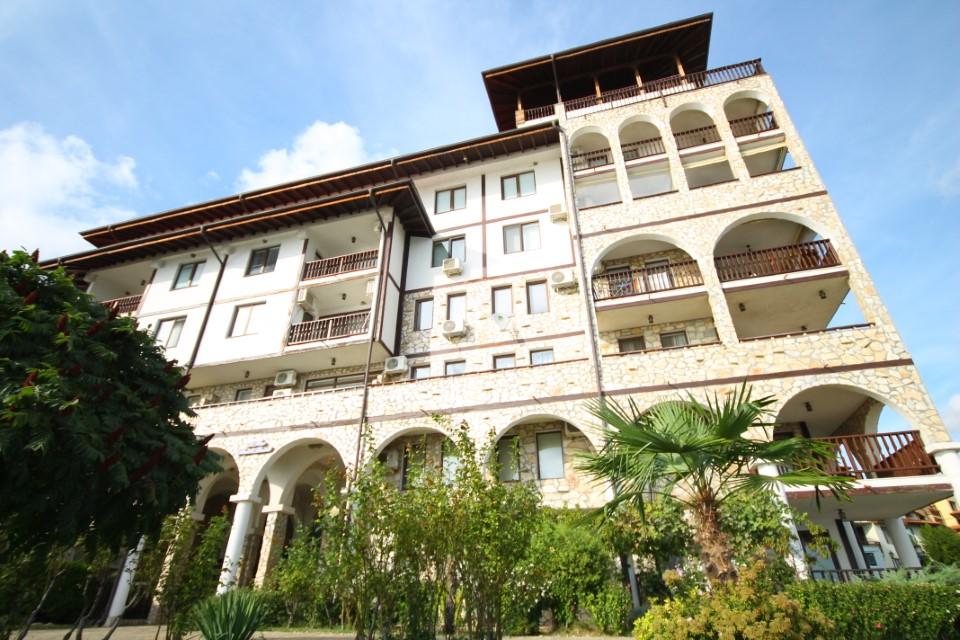 Apartament cu 2 camere, vedere la mare, prima linie, Sveti Vlas