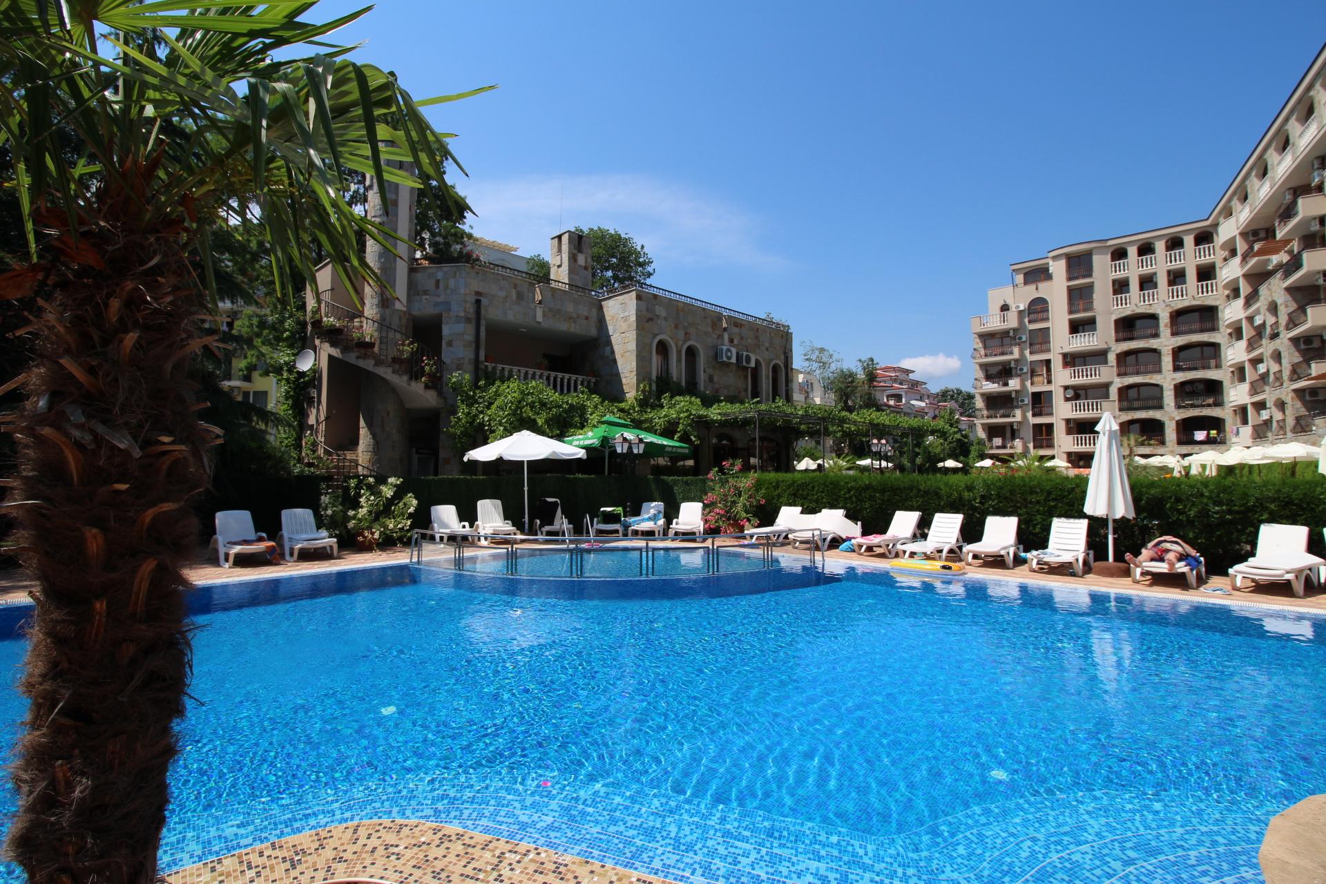 Apartament cu 2 camere, complex Anita, Sunny Beach
