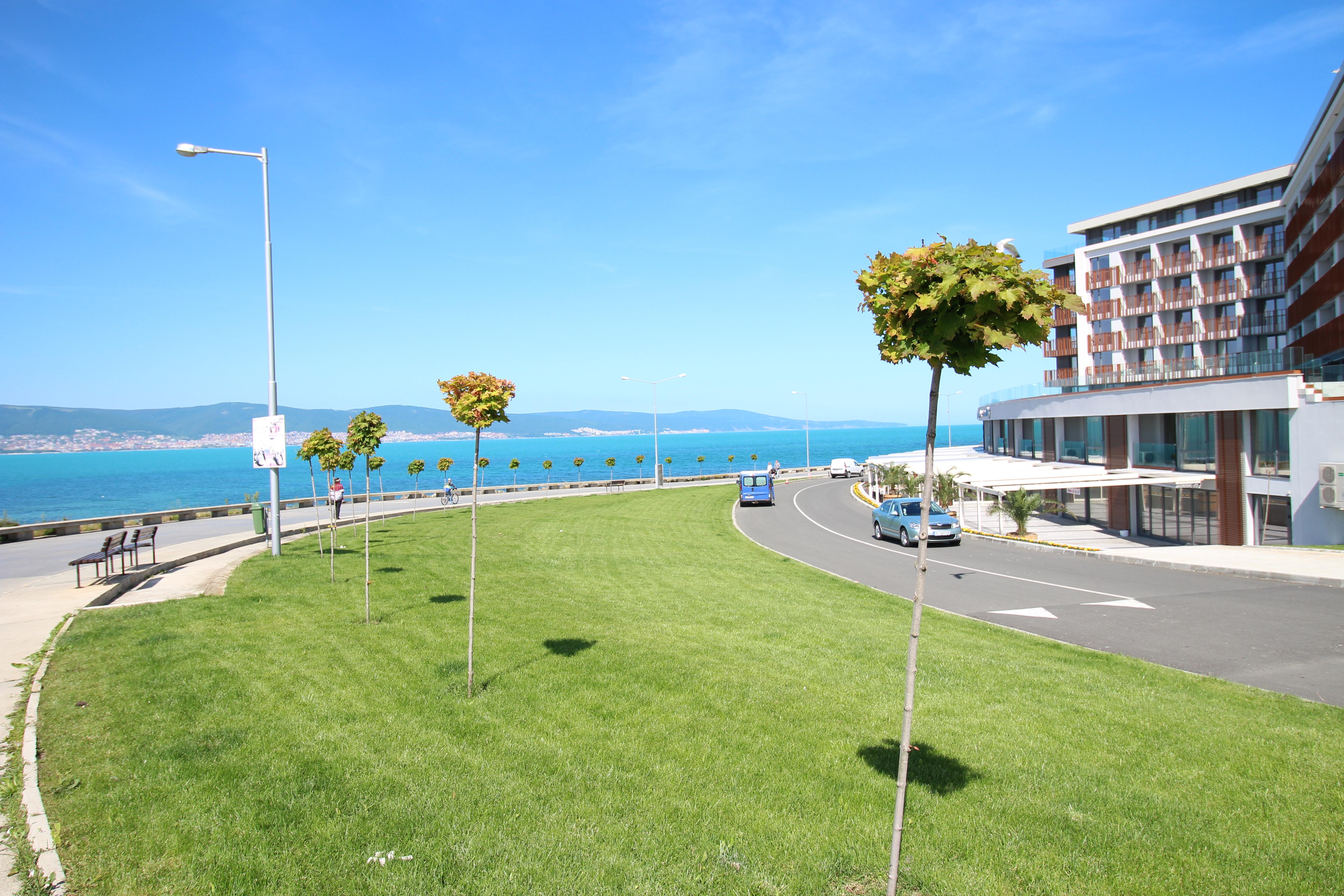 Apartament cu 2 camere, vedere la mare, PARADISO****, Nessebar