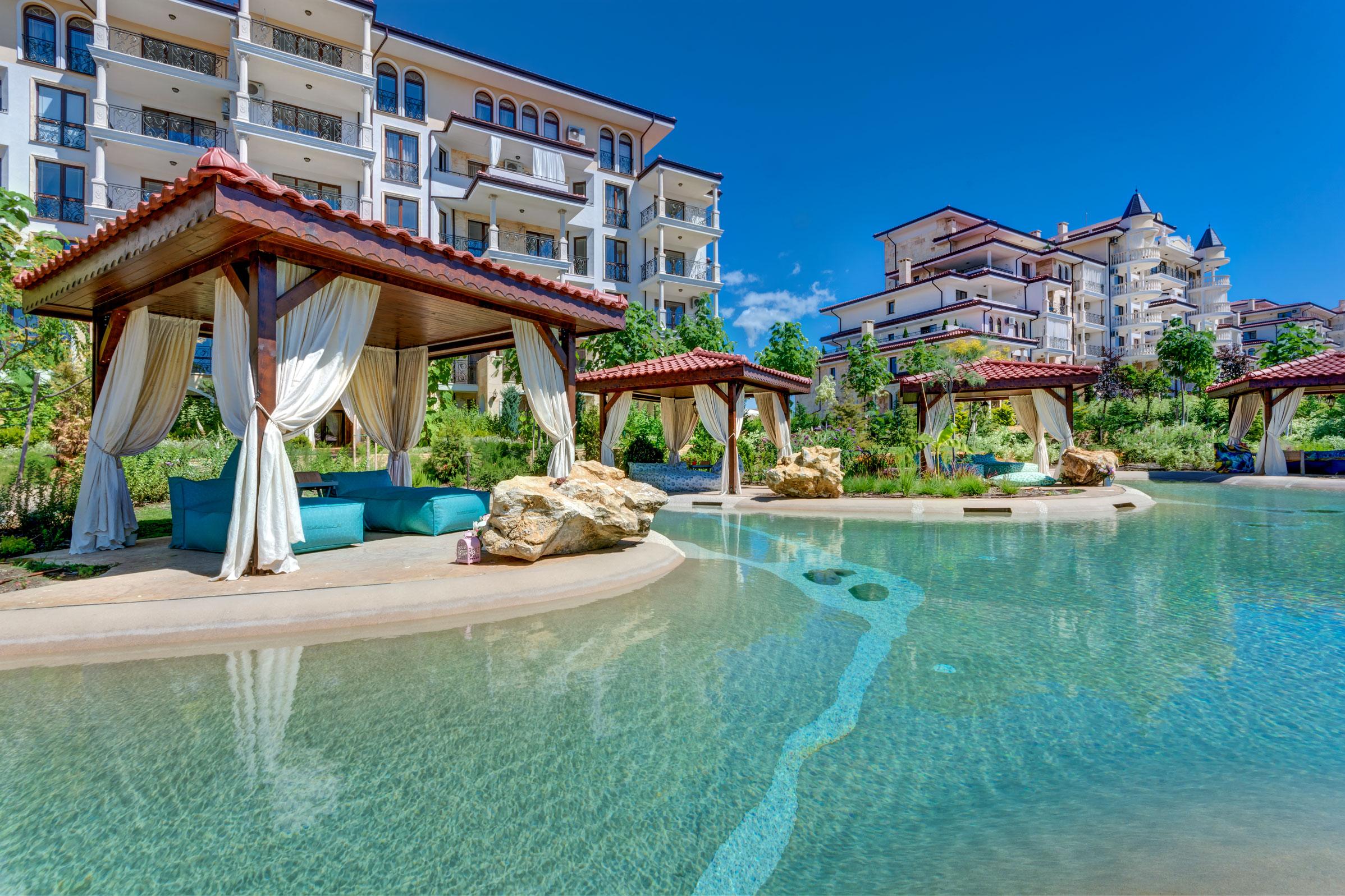 Apartament cu un dormitor în Poseidon (Nessebar, Bulgaria)