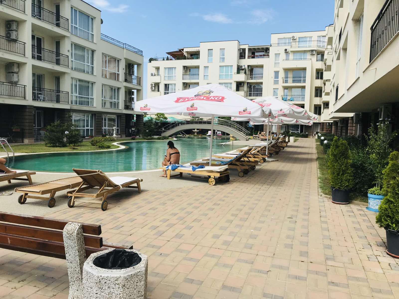 Apartament 2 camere nemobilat în Sunny Beach Bulgaria