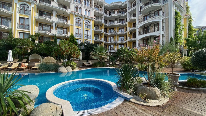 Apartament de lux cu 3 camere spatioase in complexul Harmony Suites- Monte Carlo, Sunny Beach